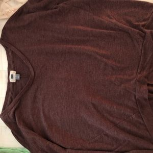 Old Navy Long Sleeve Purple Shirt